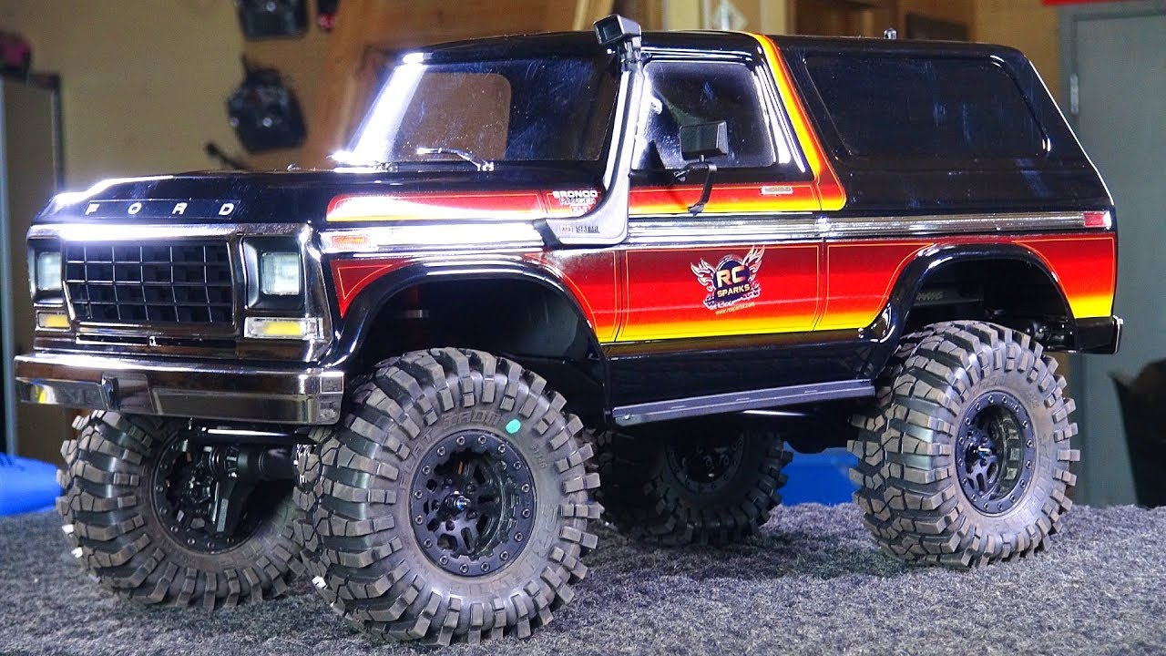 Rc Adventures 1979 Sunset Bronco Mods Install Snorkel Shocks 1980 Ford Lifted Wheels Tires Trx4 Drone Guide News