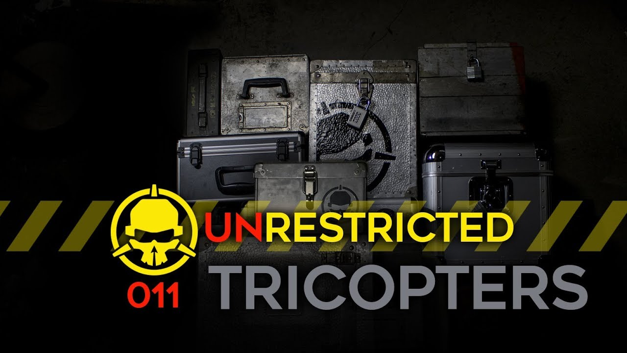 Unrestricted Podcast Ep011 – Tricopters and the History of Multirotors w/ David Windestål