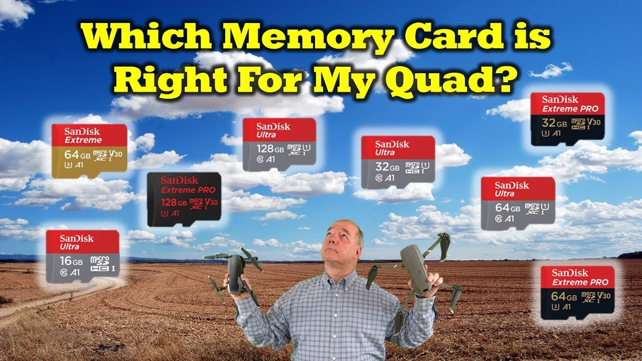 Which memory Card Is Right For My Drone?
