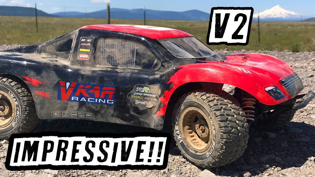 VKAR Racing SCTX10 V2 10th Scale RTR Truck – Review & Hardcore Bash