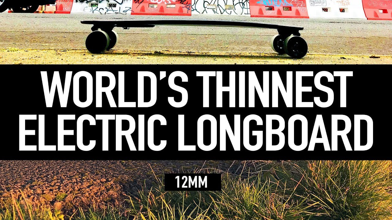 TeamGee H6 – World's Thinnest Electric Longboard Review