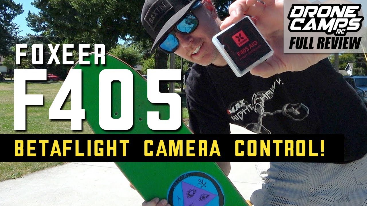 FOXEER F405 AIO with BETAFLIGHT Camera Control that works! – FULL REVIEW