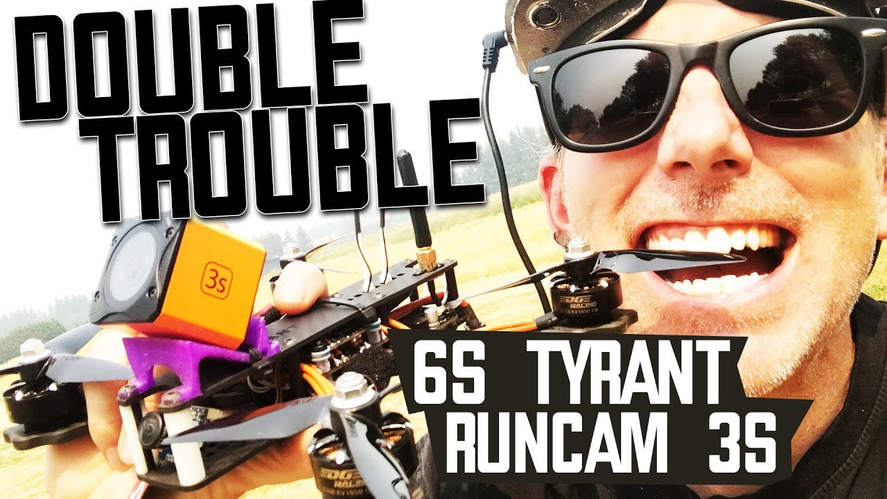 RUNCAM 3S and 2018 Diatone Tyrant – FIRST LOOK – Honest Review & Flights
