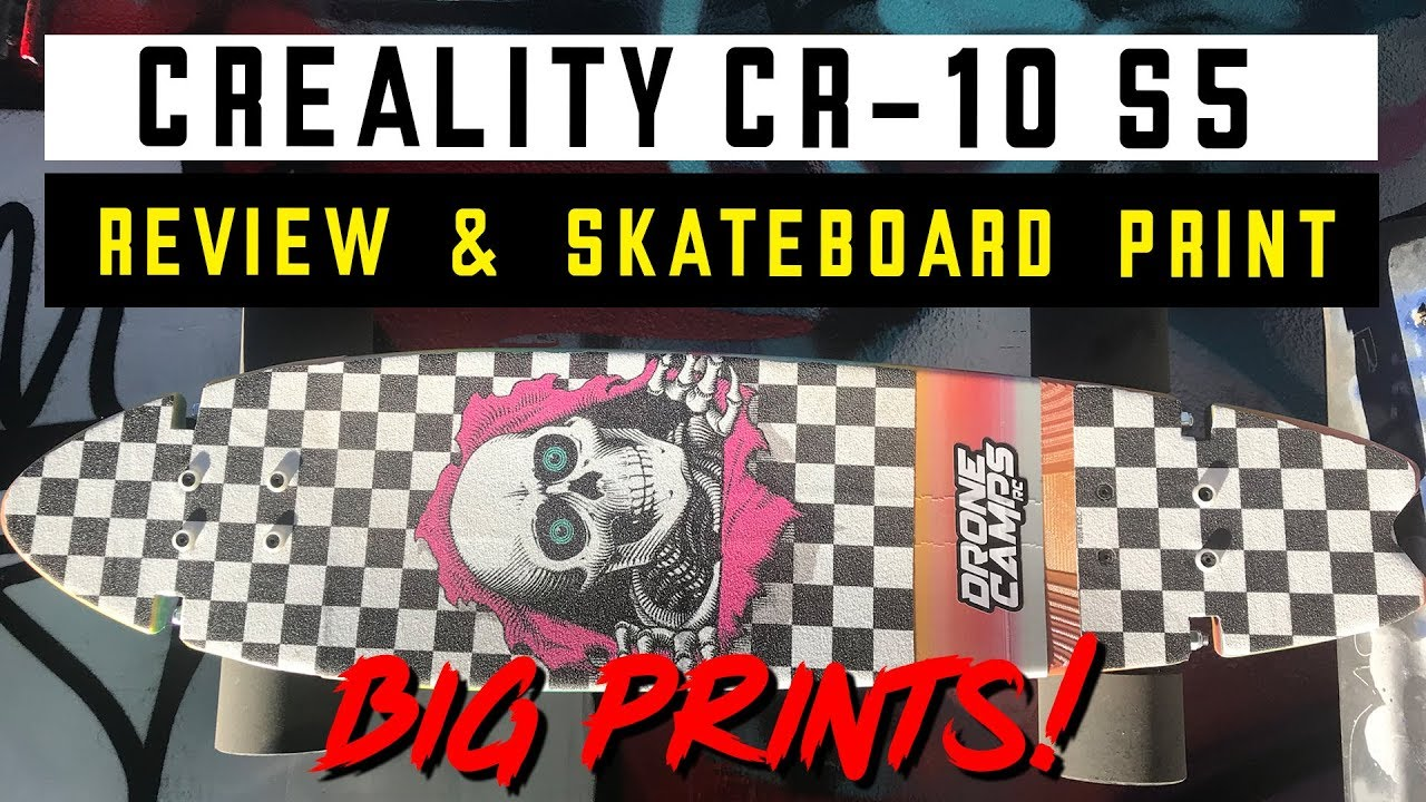 3D Printed Electric Skateboard Fail? – Print & Ride Test!
