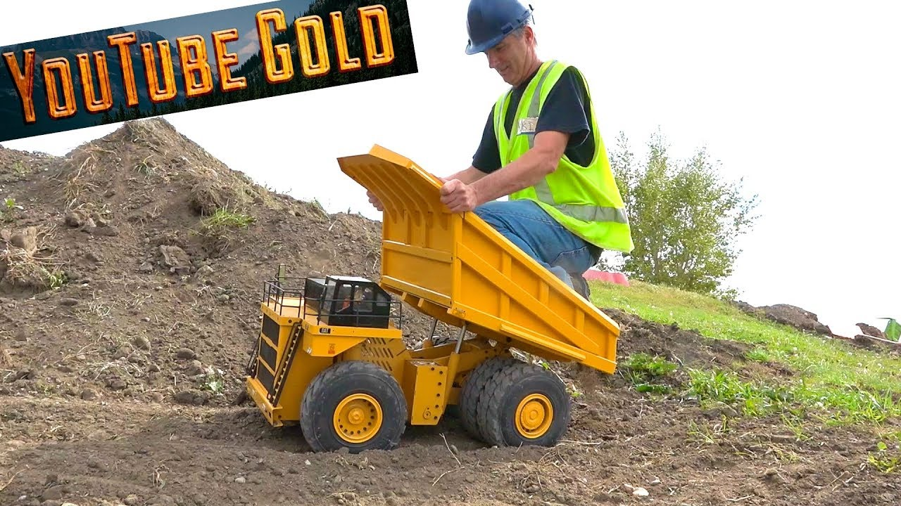 YouTube GOLD – Eps. 16 797F Haul Truck is on SITE – NOT Your Average Mining Show   RC ADVENTURES