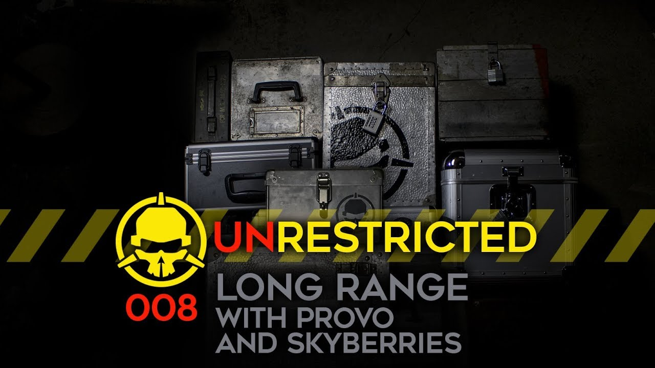 Unrestricted Podcast Ep008 – Long Range! (with @fpvprovo and @skyberries_fpv)