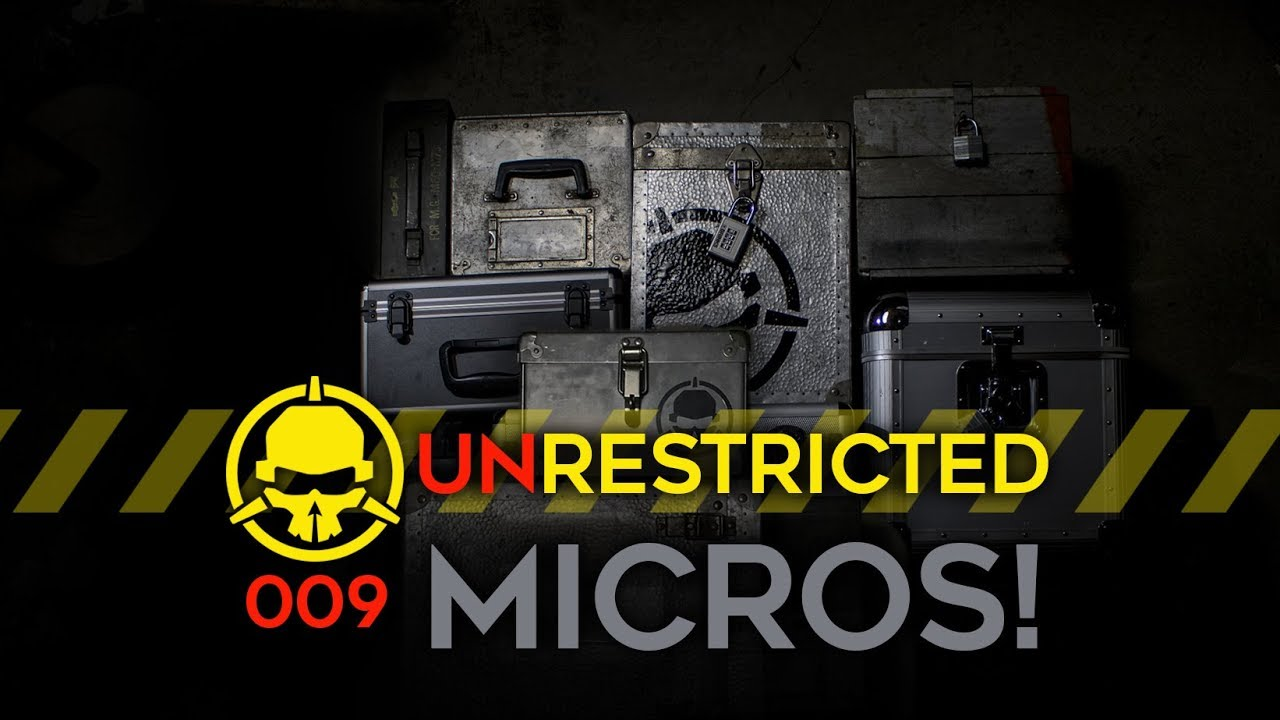 Unrestricted Podcast Ep009 – Micros! (with Ummagawd and Martin White)