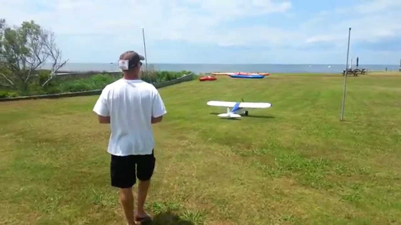 DRONE CAMPS RC – Crash landing the HORIZON Carbon Cub!