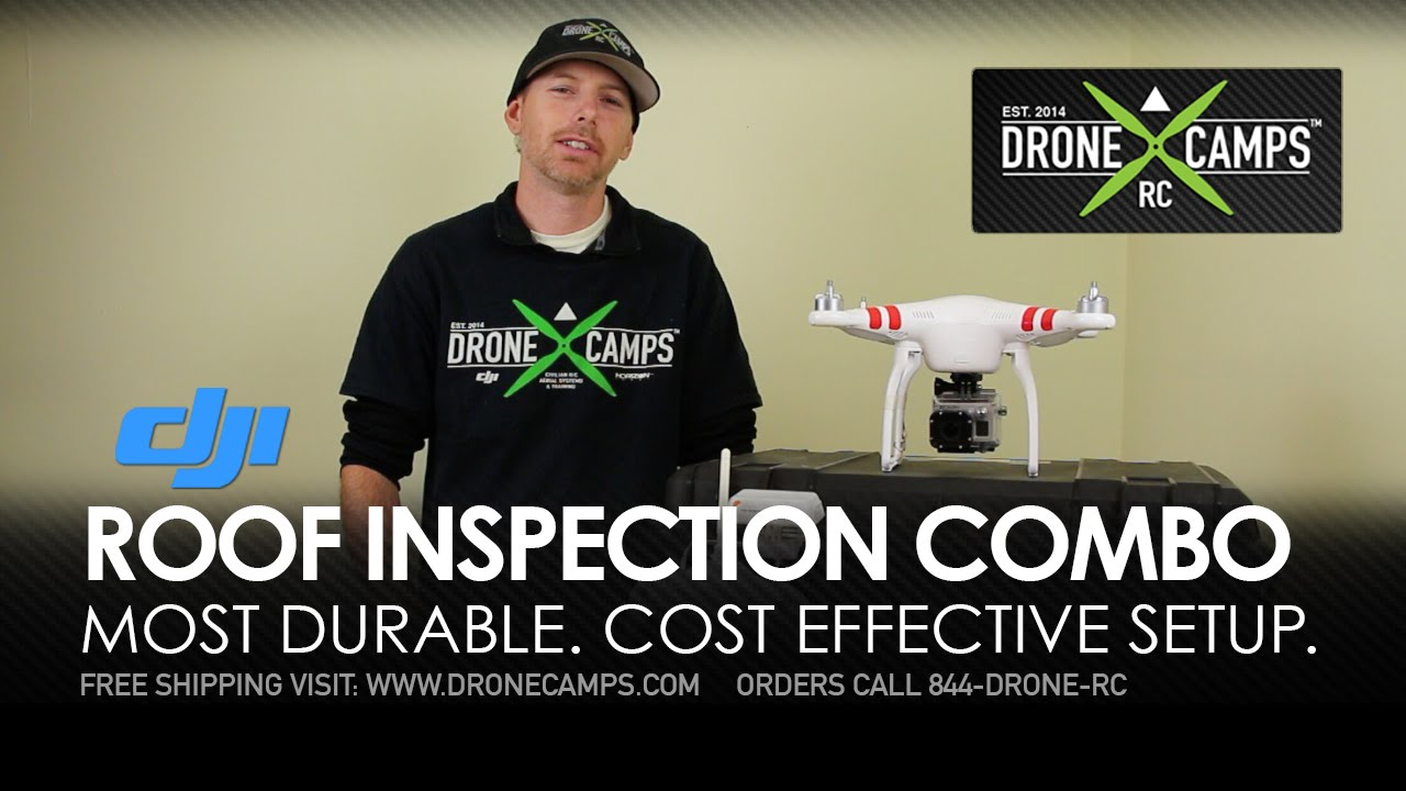 Roof Inspection Drone Combo – by Drone Camps RC
