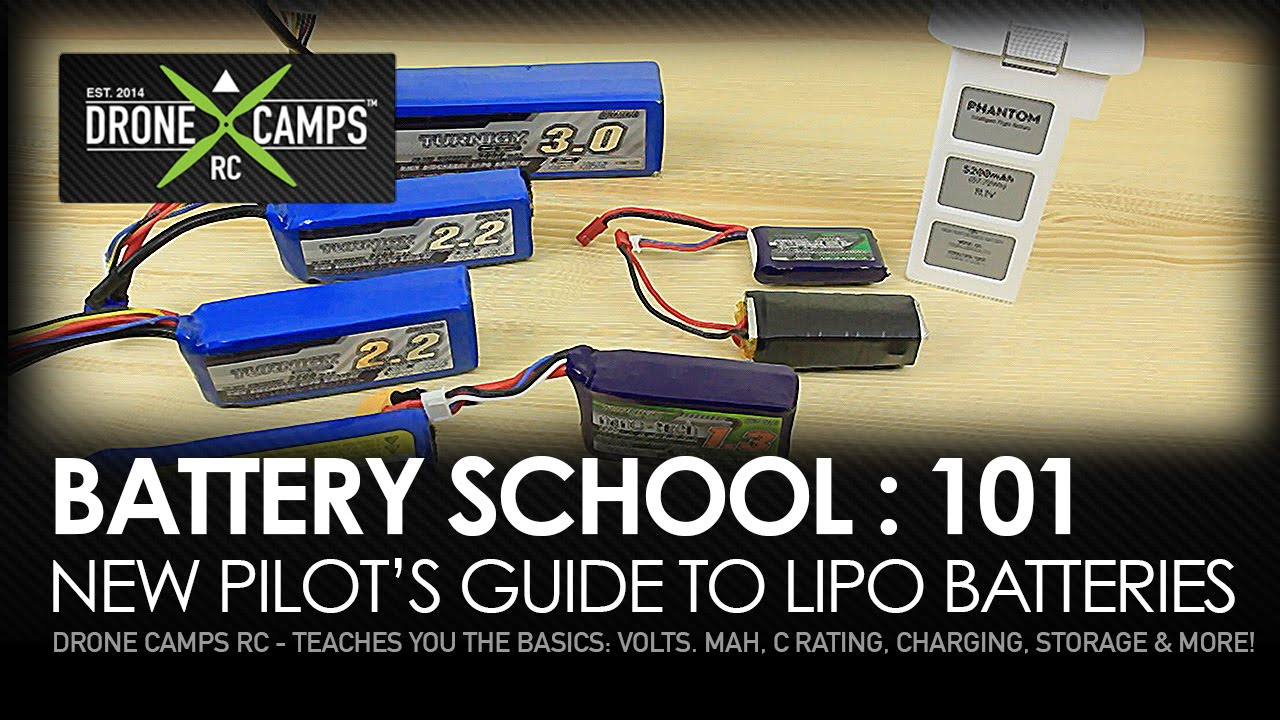 Drone Camps RC – Battery School 101 – UPDATED!