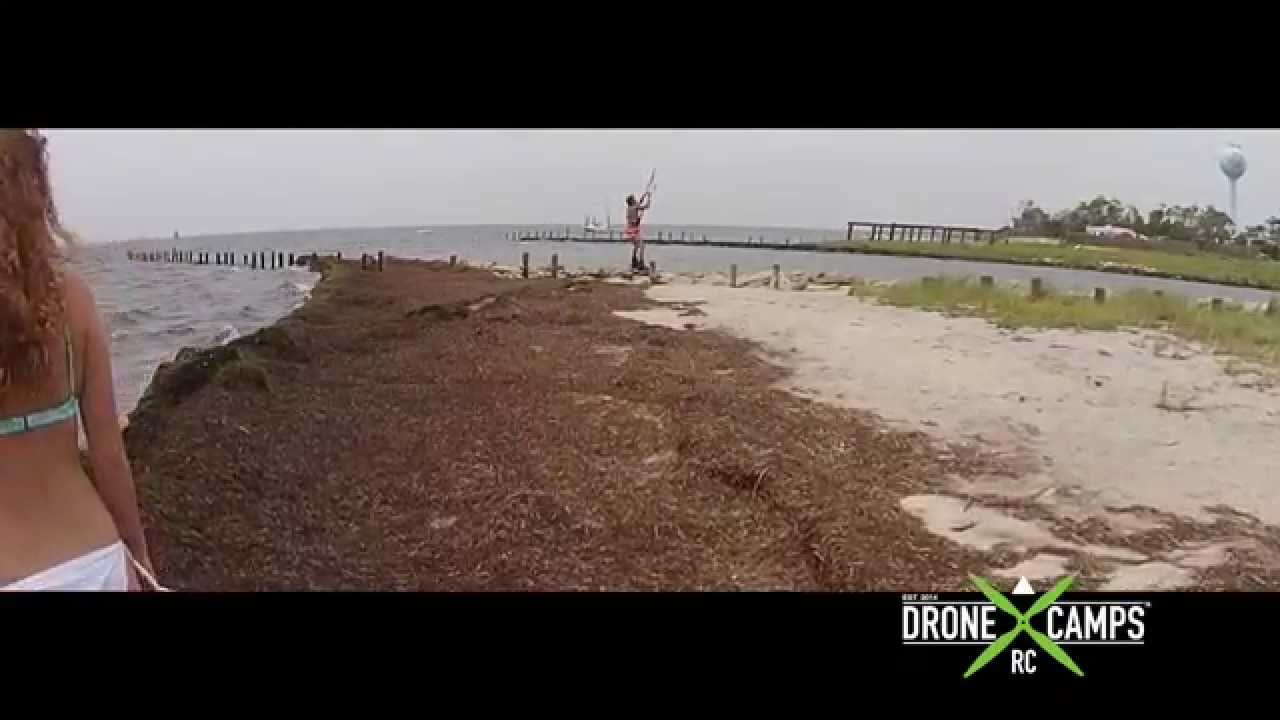 Phantom 2 Vision+ in 25mph Winds! – By Drone Camps RC
