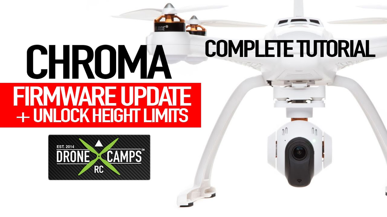 Chroma Drone – Firmware Update + Unlocking Height Limits Tutorial