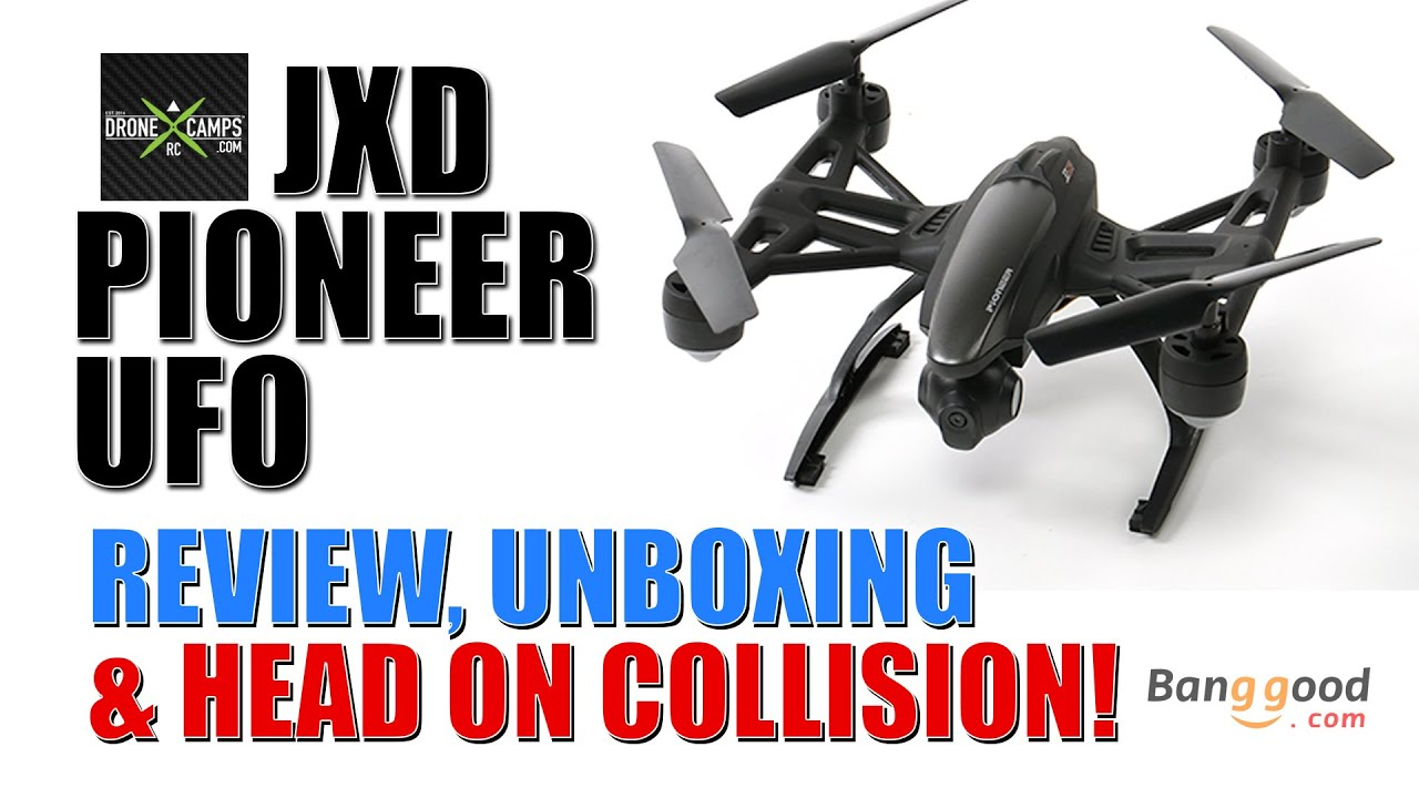JXD PIONEER UFO – Complete Review & Head On Collision!