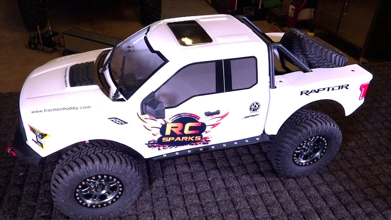The KiNG of 8th scale TRAiL TRUCKS?! NEW FORD RAPTOR F150 4X4 from Traction Hobby | RC ADVENTURES