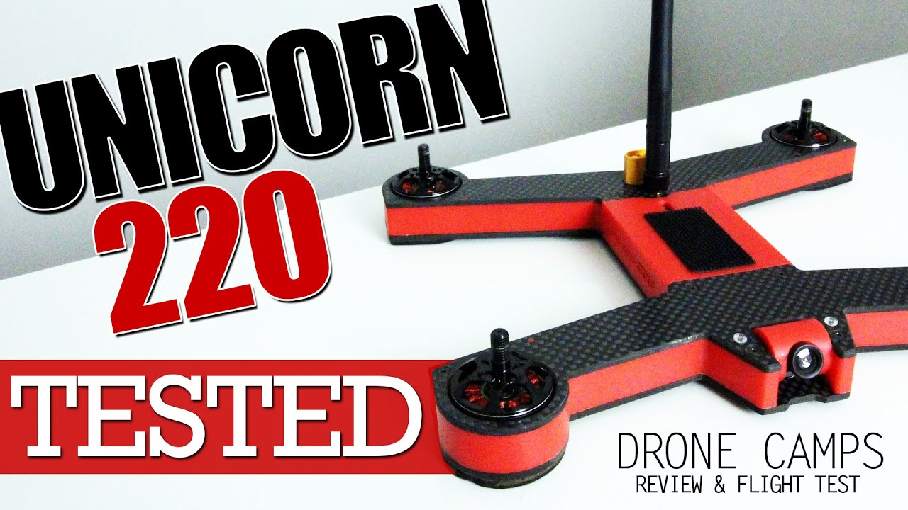 Unicorn 220 – Best New Chinese RTF Racer Quad