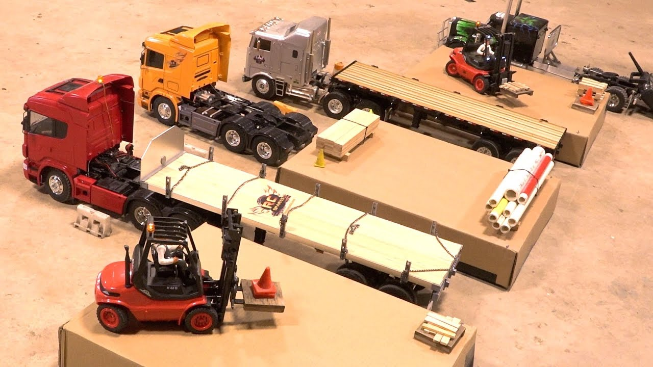 RC ADVENTURES – FORKLiFT FiGHTS  ELIMINATION BATTLE: LOADING WARS