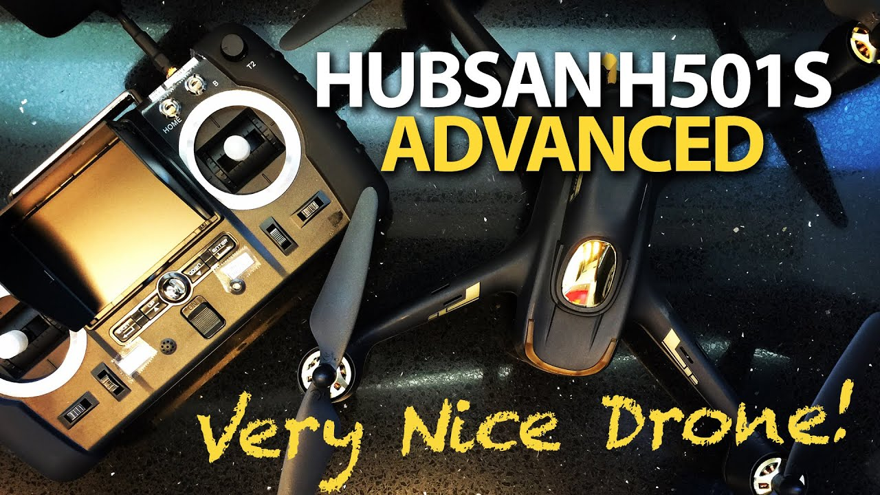 Hubsan H501S X4 Advanced – HIT A TREE & Follow Me – TESTED – Drone
