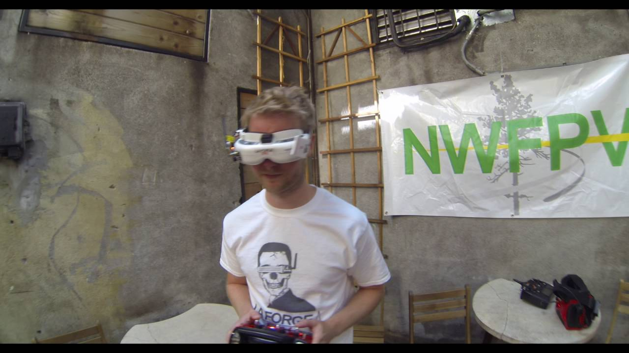 NWFPV – WORLD'S SMALLEST DRONE RACE IN A BAR