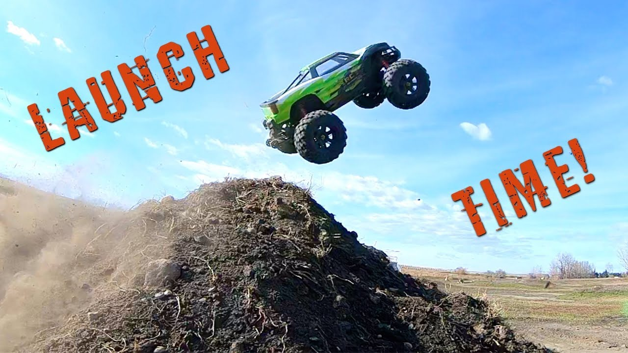 LAUNCH TIME – TRAXXAS XMAXX 8S BASH SESSION | RC ADVENTURES
