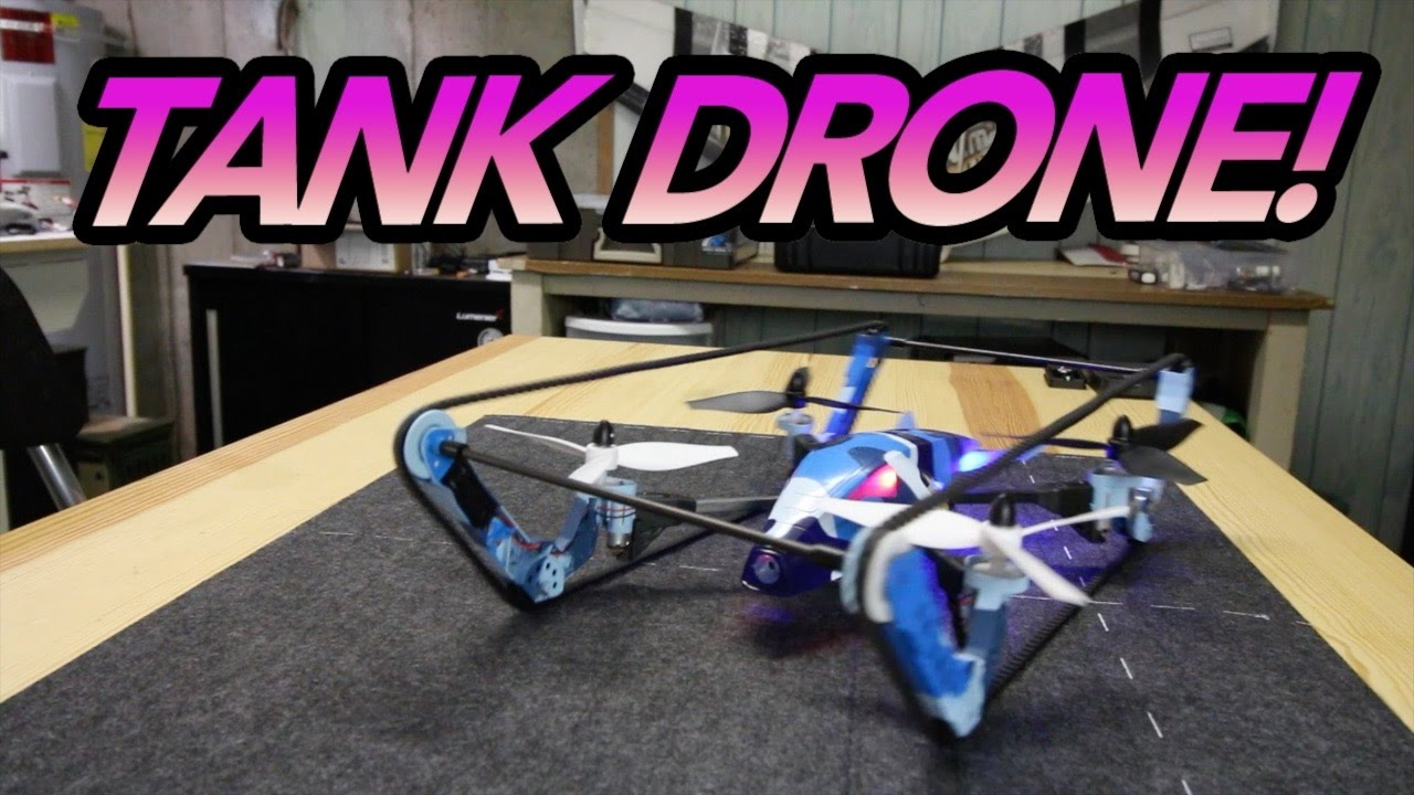 TANK DRONE! – WLToys Q919-A ( B-Unstoppable Clone ) Flight Review