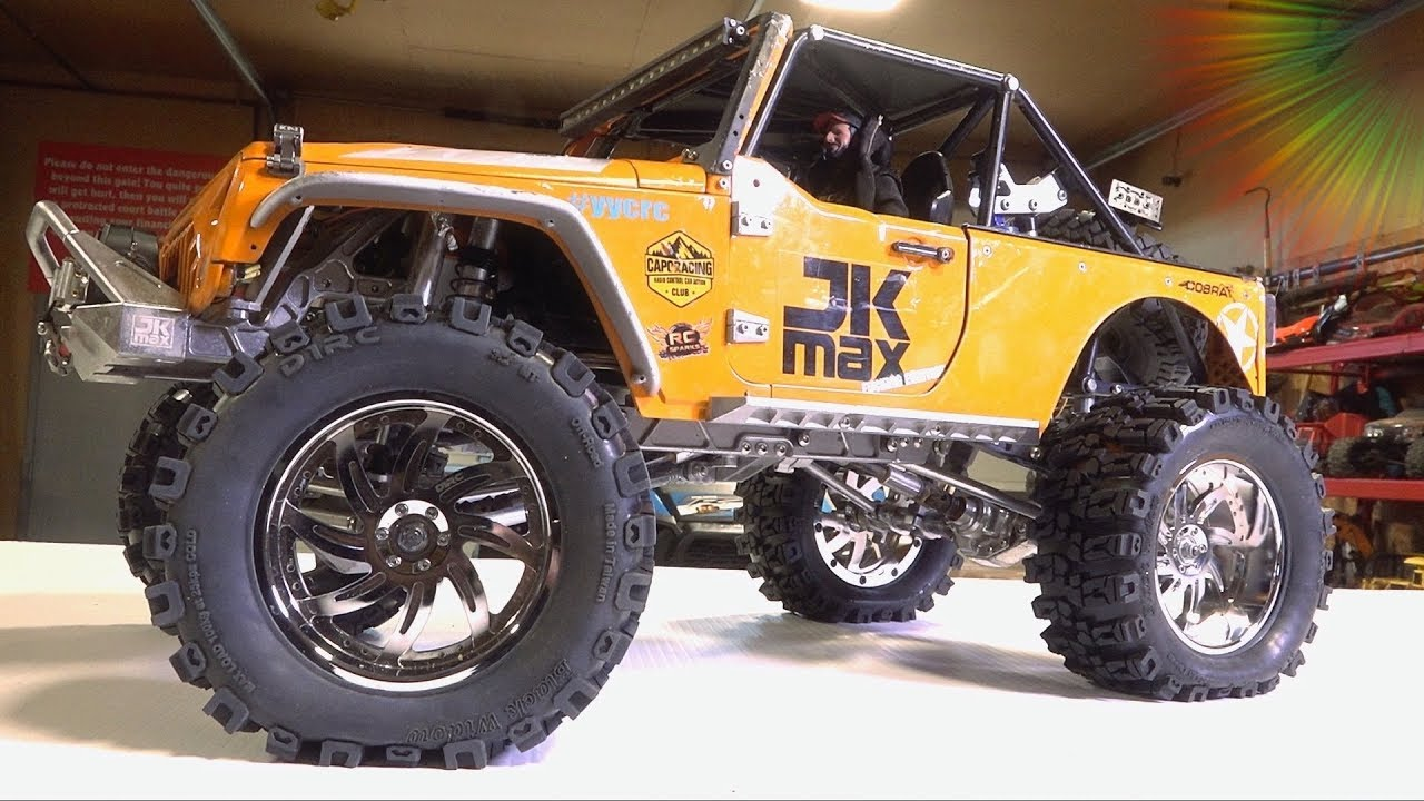 UNBOX & INSTALL 3.2″ DUB STYLE Wheels on the JK MAX from D1RC | RC ADVENTURES
