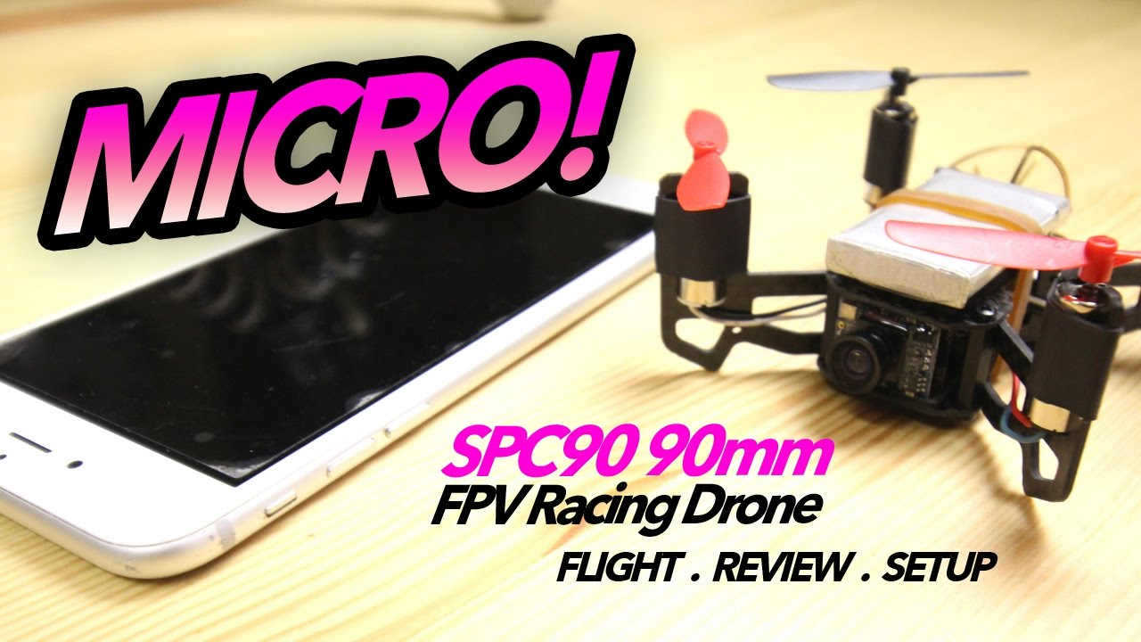 SPC90 90mm FPV Racing Drone with F3 –  Flight, Review, Setup
