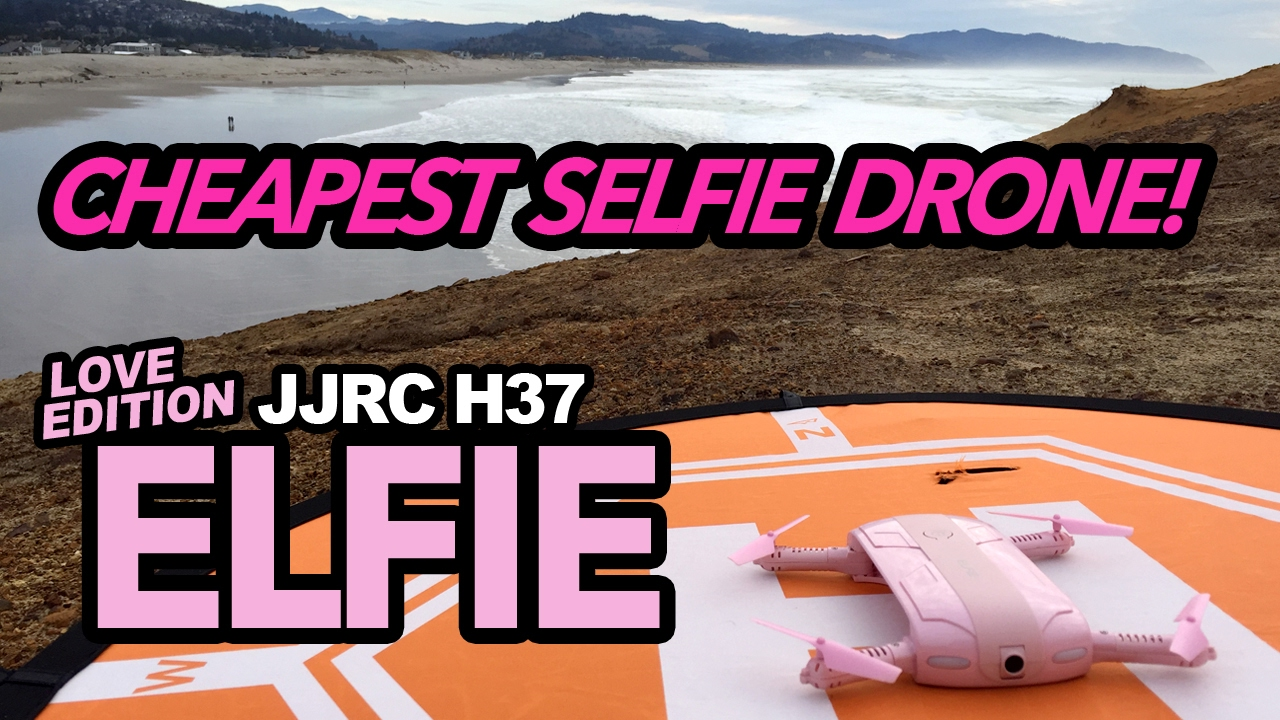 CHEAPEST SELFIE DRONE – LOVE EDITION JJRC H37 ELFIE