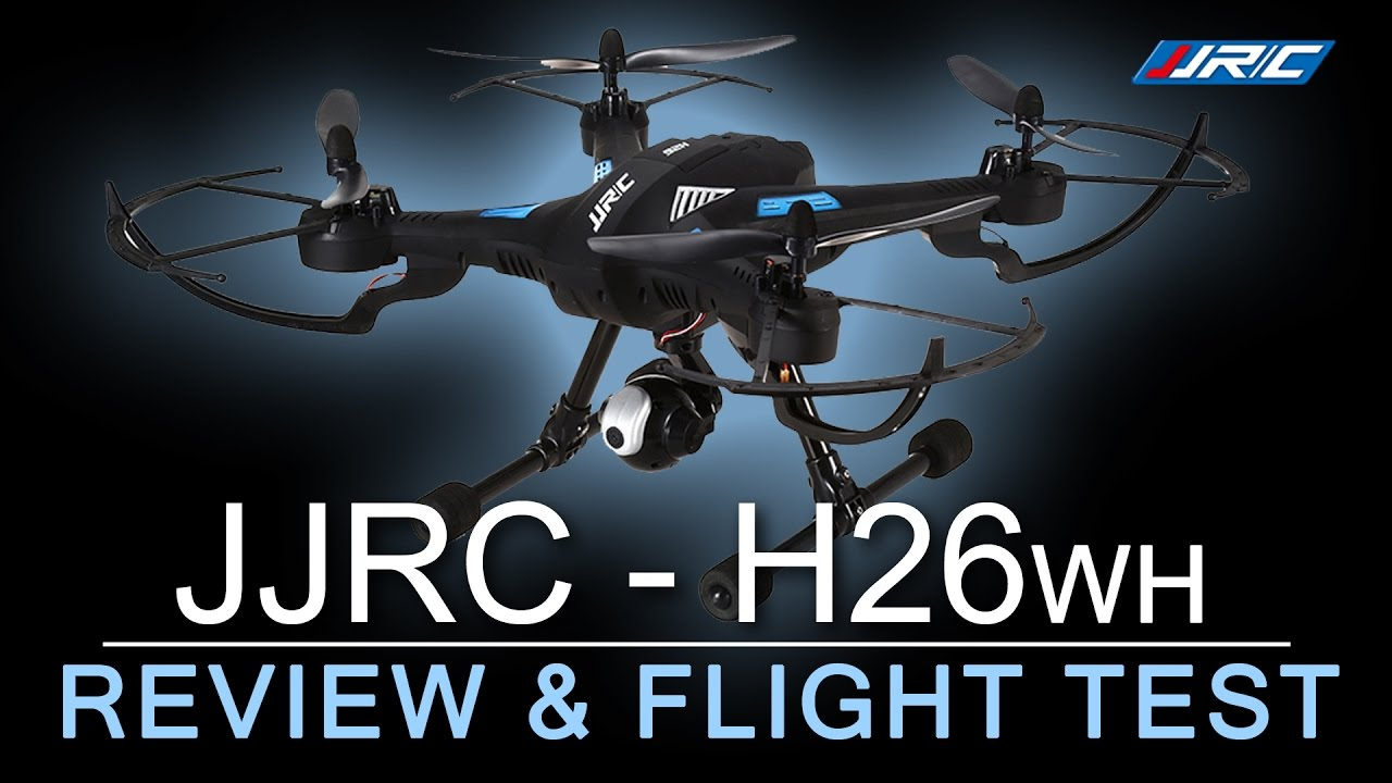 CHEAPEST WIFI DRONE with Altitude Hold – JJRC H26wh – Flight Review