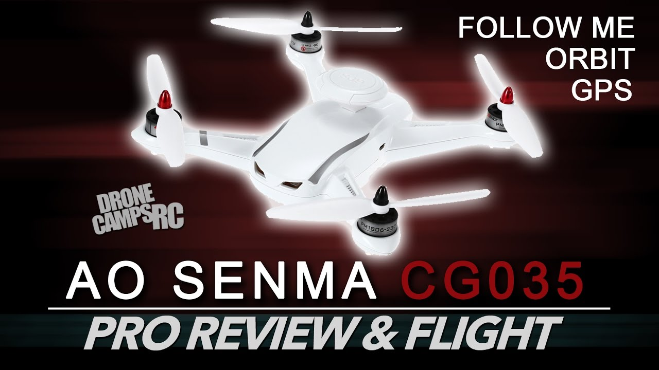 AO SENMA CG035 – CHEAPEST FOLLOW ME DRONE – TESTED