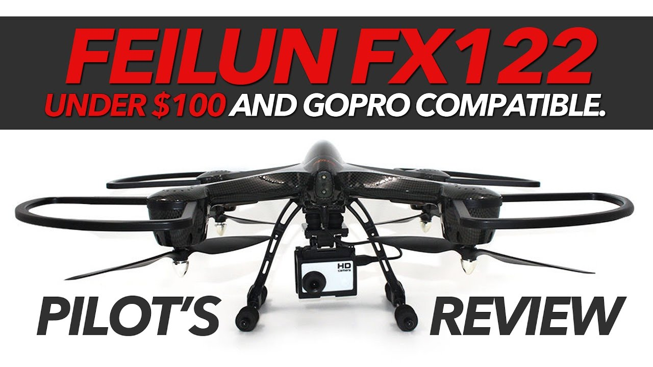 FEILUN FX122 – GOPRO Compatible Drone, Flight Review