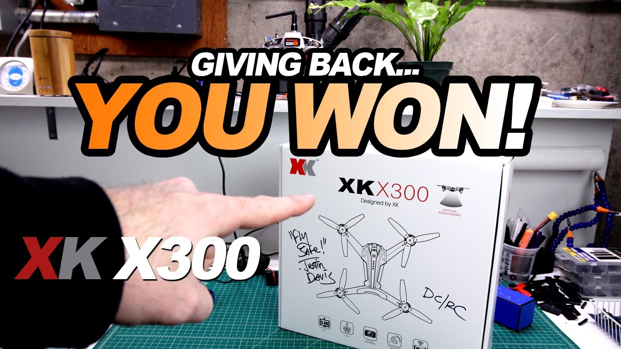 YOU WON! – The XK X300 Drone
