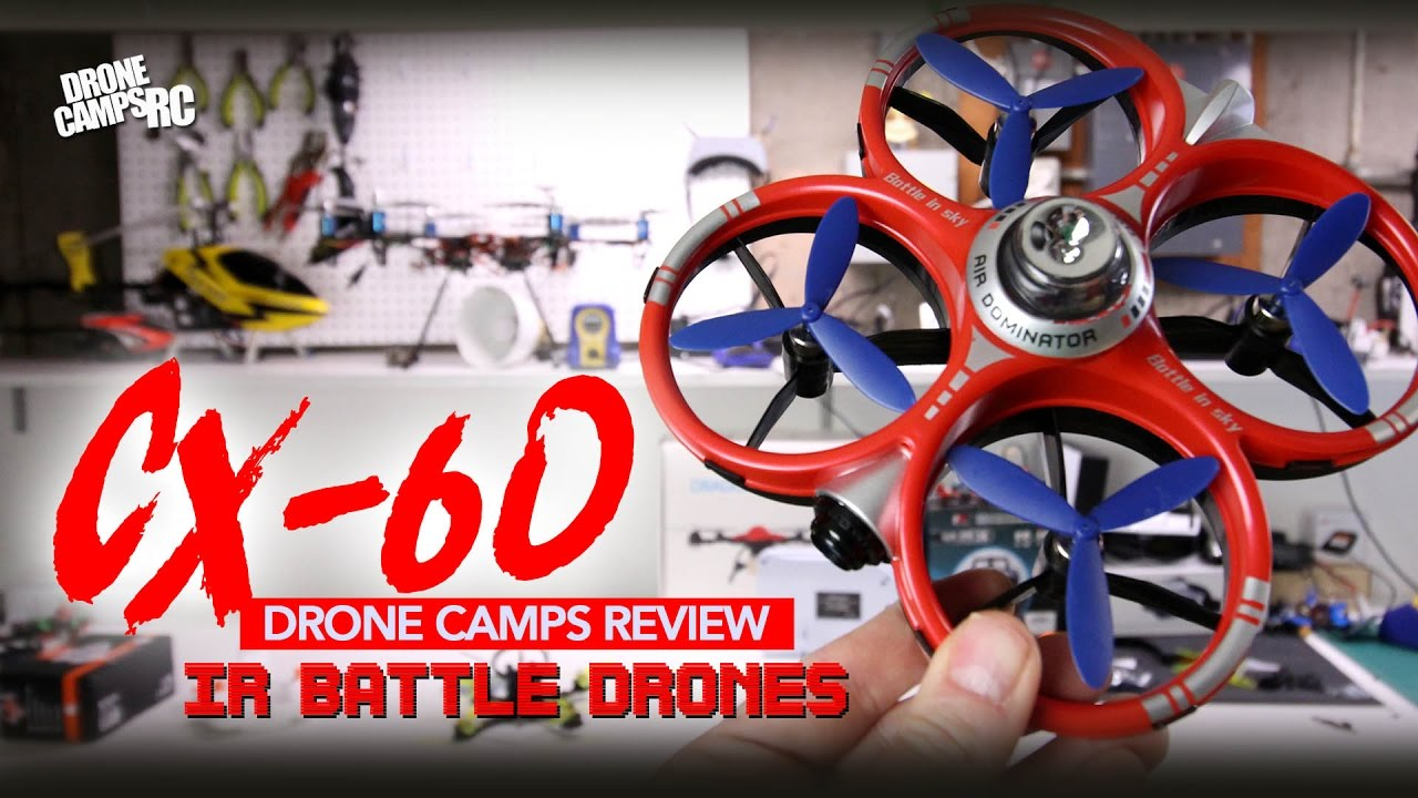 CHEERSON CX 60 – WIFI Air Dominator – IR BATTLE DRONES Review