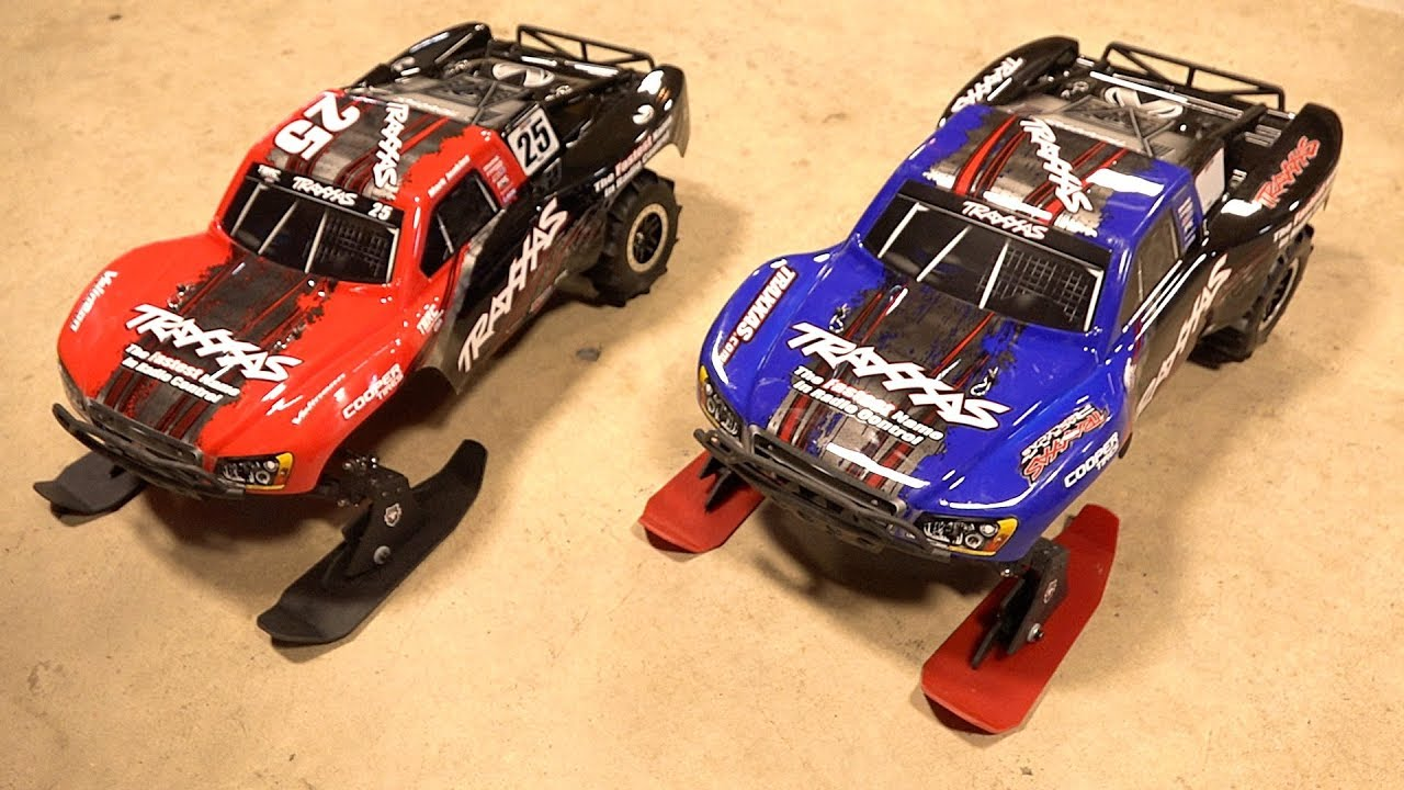 SNOW & SAND – TBR 2018 V3 SKIs : Traxxas 1/10 2WD SLASH  w/ Paddle Tires | RC ADVENTURES