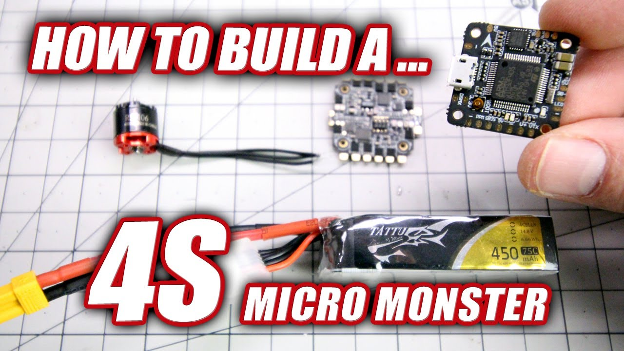 HOW TO BUILD A 4S Micro Monster – HGLRC XJB F425