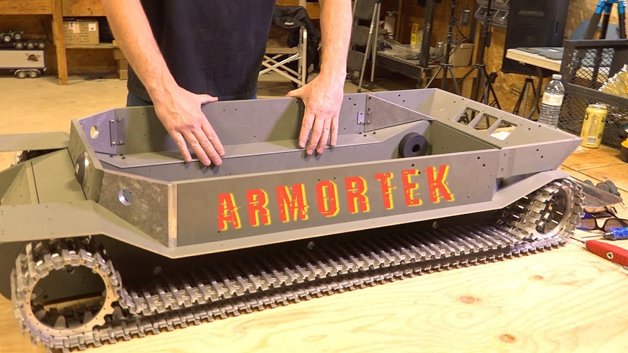 "ARMORTEK ELEFANT: 1/6 Scale METAL TANK BUILD – ""Tanks for 10 Years"" Project – PT 3 