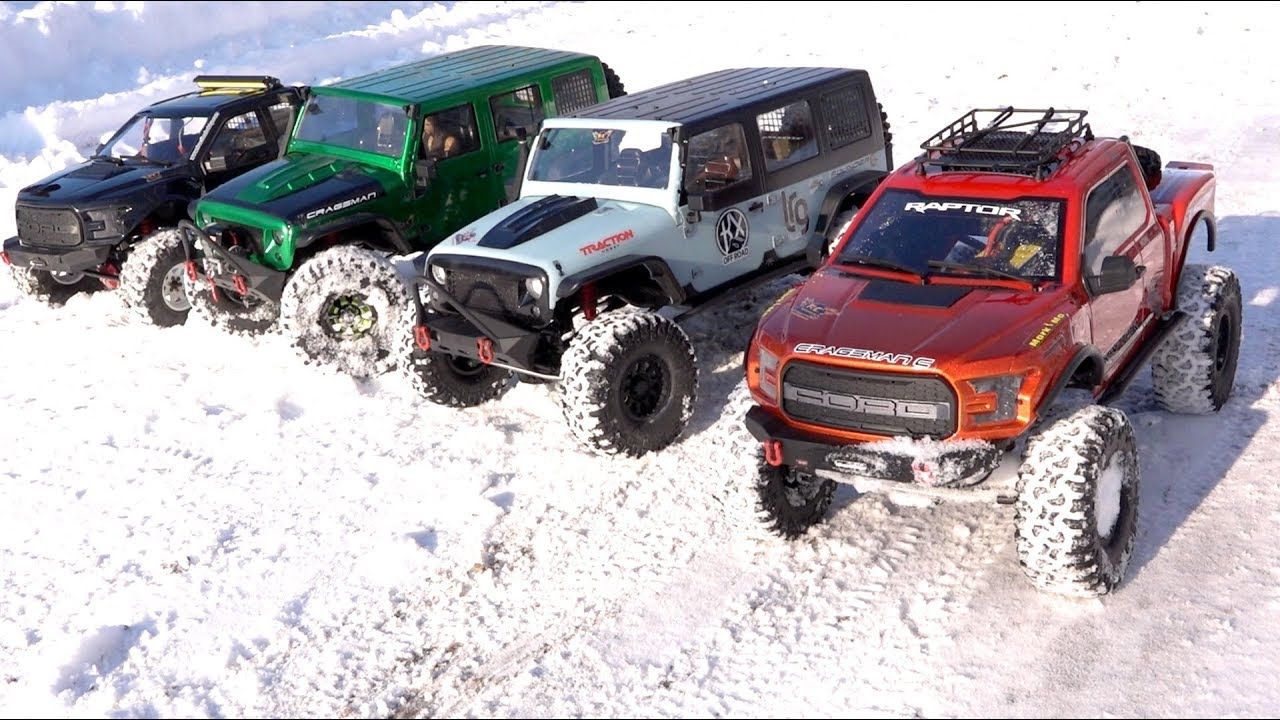 NEXT BIG THING: 1/8 scale Trail Trucks : BACKYARD TRAIL PARK – 4×4 Cragsman Crew | RC ADVENTURES