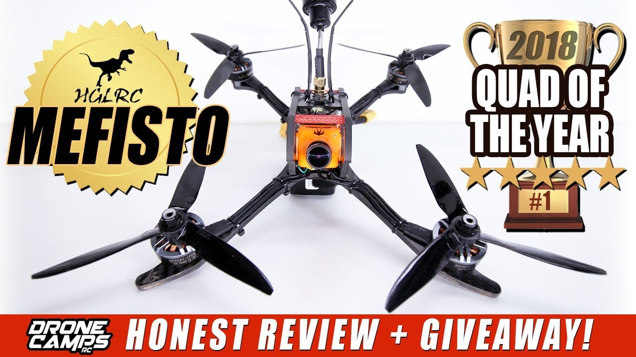 HGLRC MEFISTO 6S – QUAD OF THE YEAR? – HONEST REVIEW + GIVEAWAY!