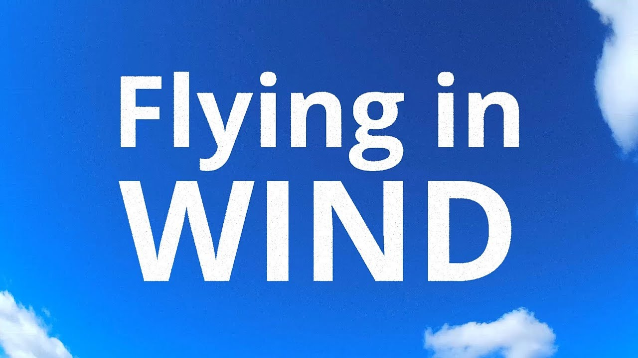 Tips for RC plane flying in strong winds
