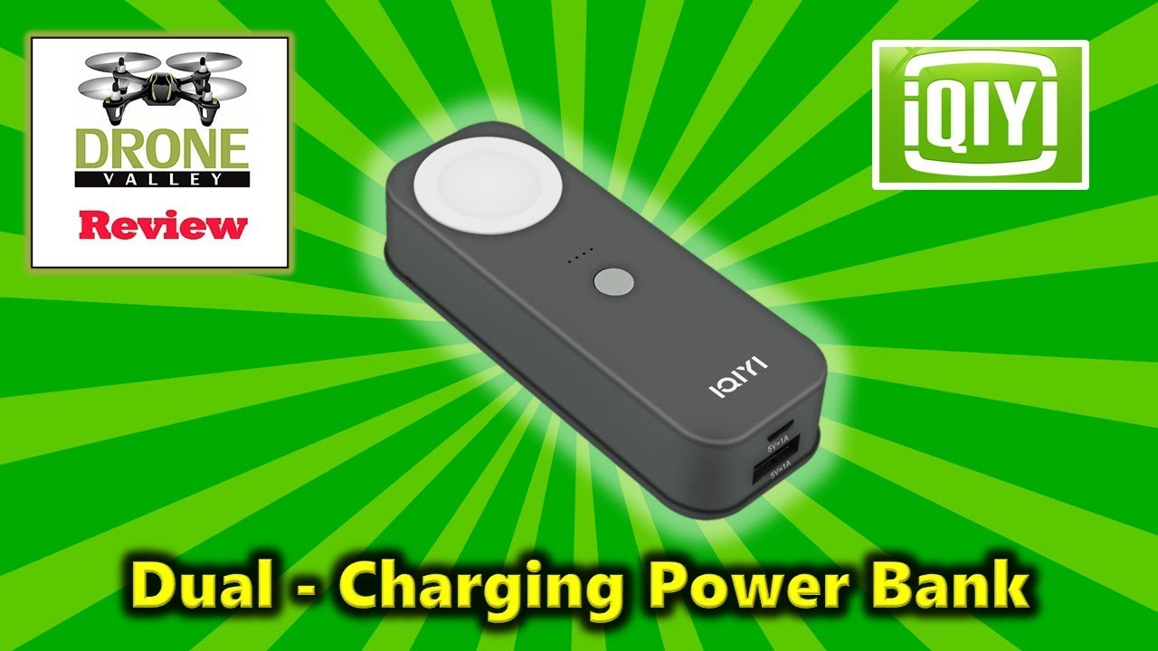 Charge Your Apple Watch – Cool New IQIYI 2-In-1 Power Bank