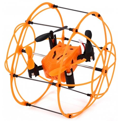 Helic Max Sky Walker 1336 4 Channel 2.4G RC Quadcopter 3D Rollover Copter with Climbing / Walking / Flying Function