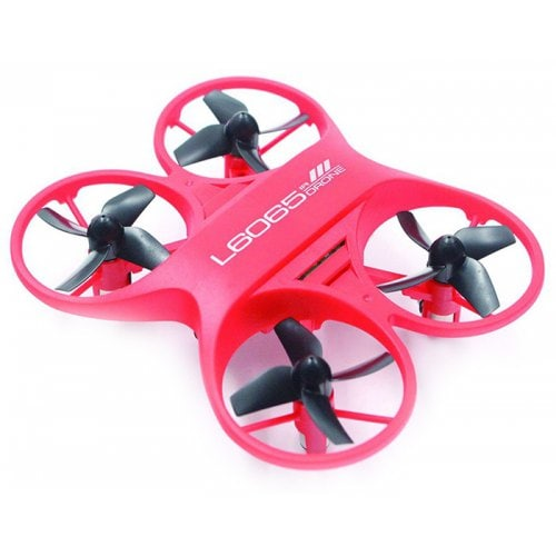 L6065 Mini RC Drone Infrared Controlled Drone Aircraft with LED Light Birthday Gift for Children Toys