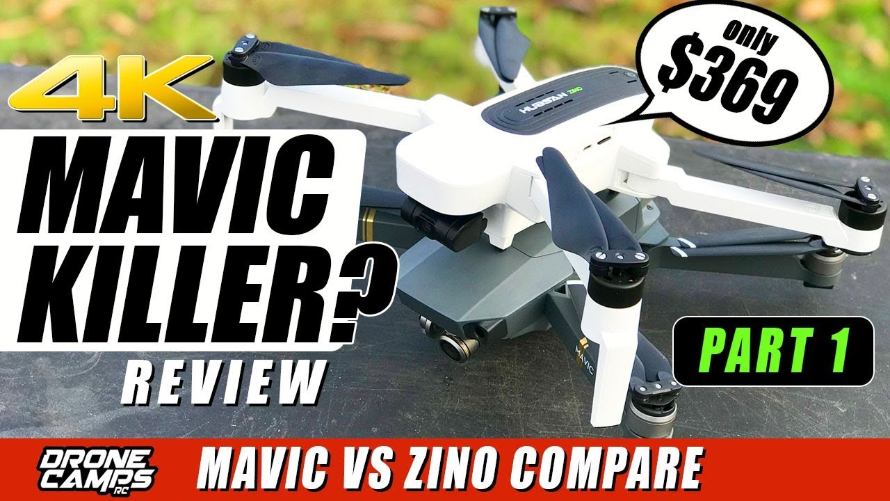 DJI MAVIC KILLER? – HUBSAN ZINO 4K Drone $369 – Compare, Flights, Range – Honest Review