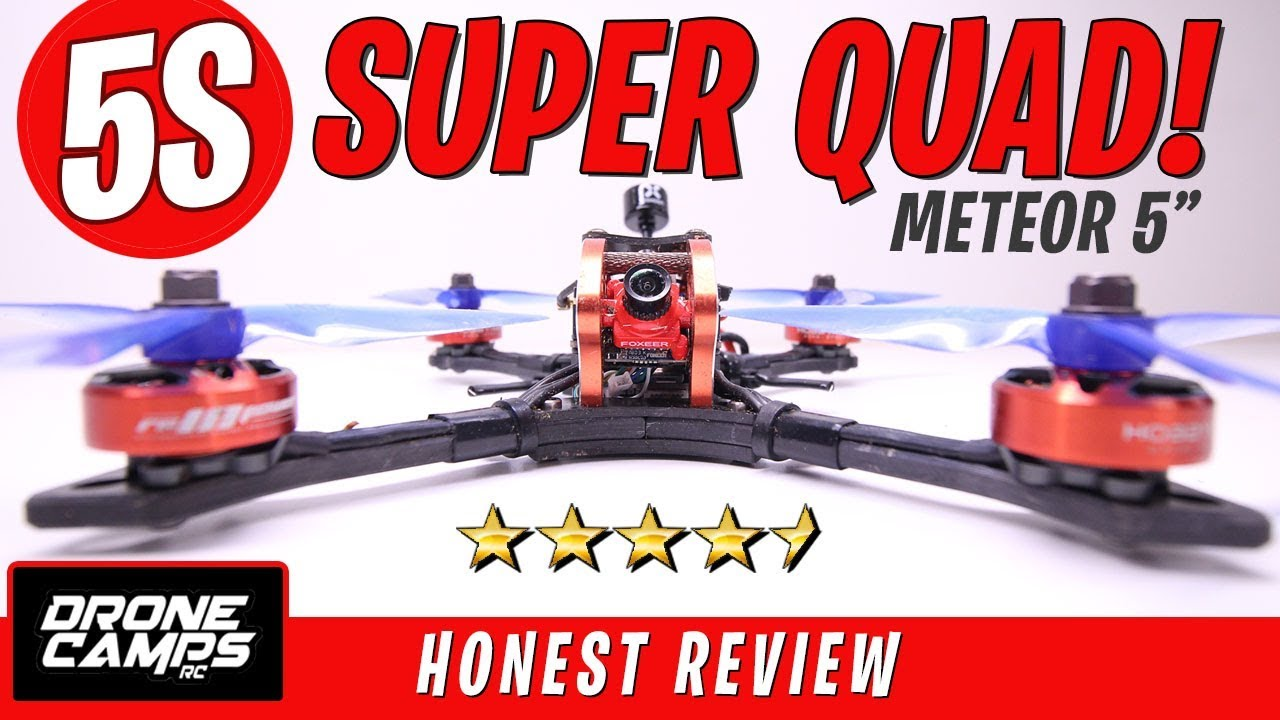 5S SUPER QUAD! – $199 HOBBYMATE METEOR 5″ – Honest Review & Flights