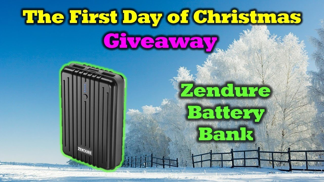 Day 1 – 12 Days of Drone Valley Christmas Giveaways