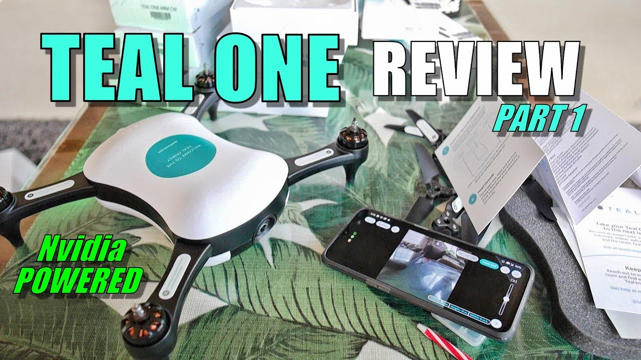 TEAL ONE Review – Nvidia Powered Smart Drone – Part 1 [Unboxing, Inspection, Setup, Pros & Cons]