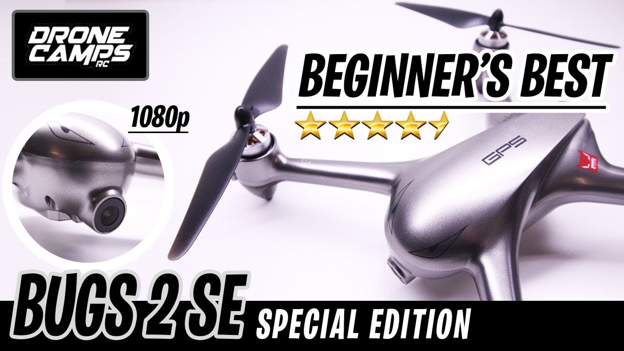 BEST BEGINNER DRONE – BUGS 2 Special Edition GPS – Honest Review, Modes, & Flights