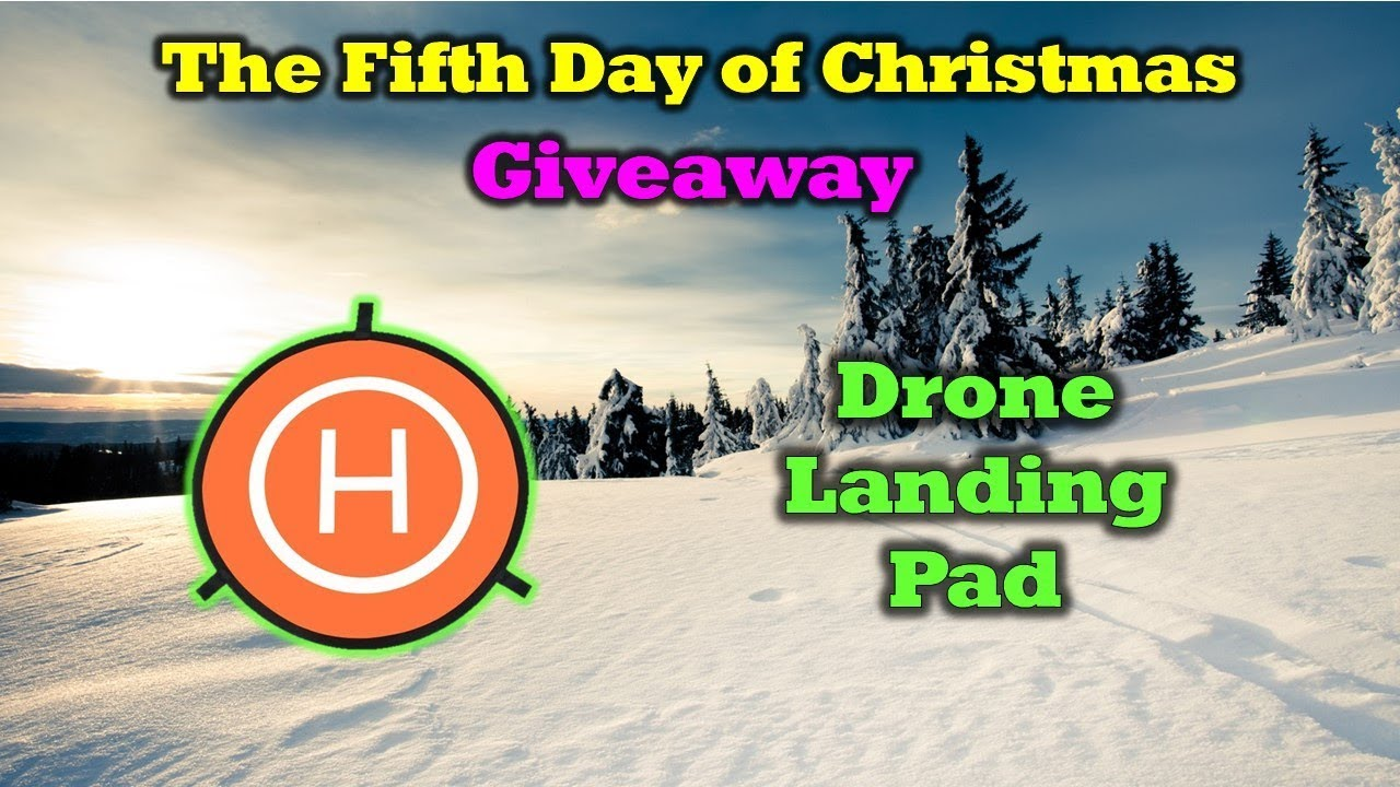 Win a Free Landing Mat –  Day 5 of the 12 Days of Drone Valley Christmas Giveaways
