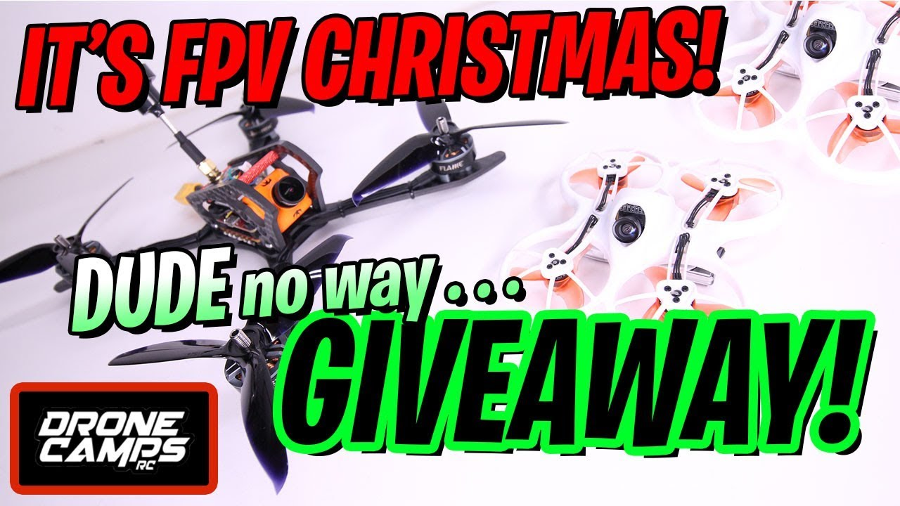 DUDE no way GIVEAWAY!!! – 2 Tinyhawks + an HGLRC Mefisto 6S & Winners