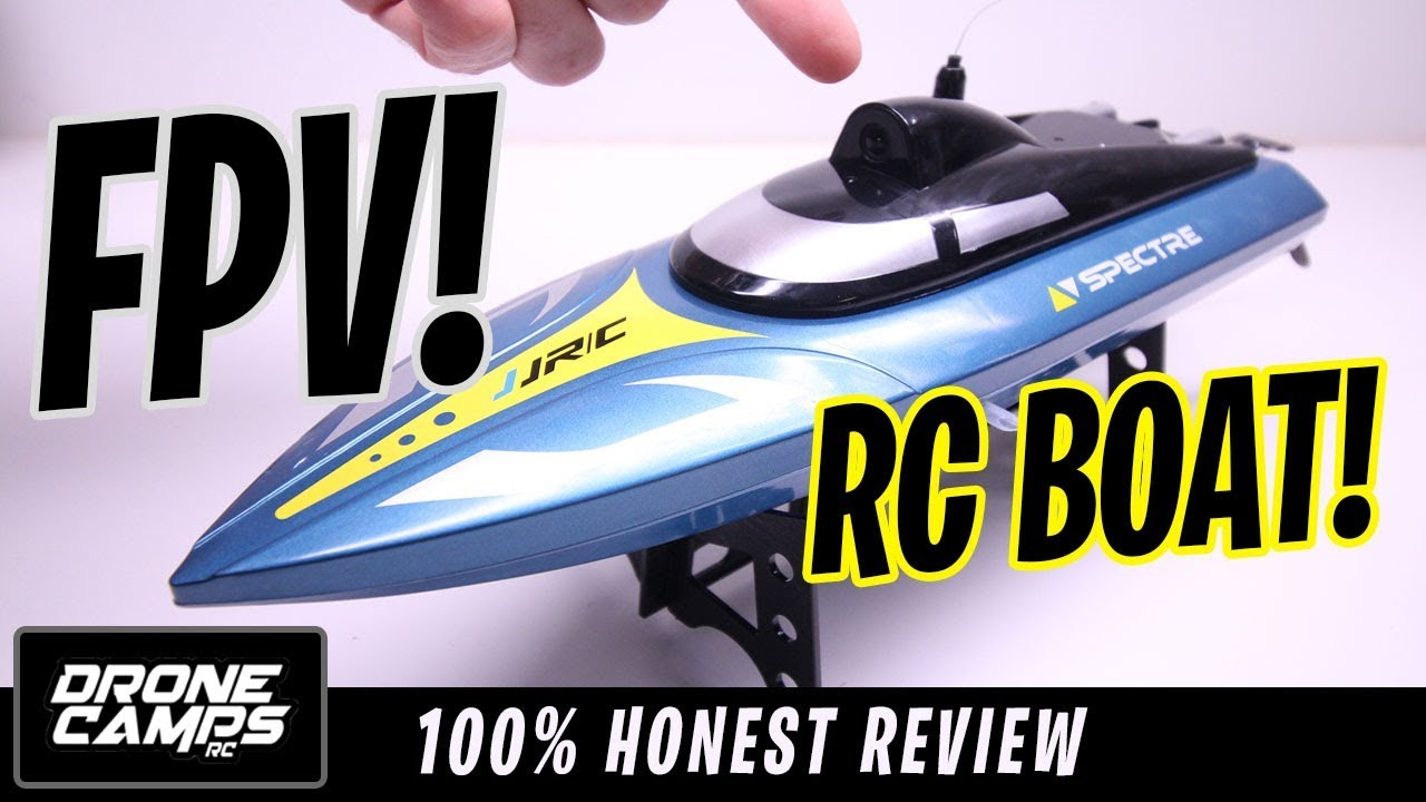 $50 FPV RC BOAT! – JJRC S4 SPECTRE FPV RACE BOAT – Honest Review