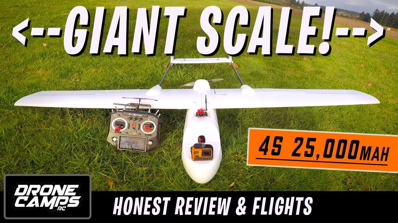 GIGANTIC LONG RANGE FPV PLANE! – Skyhunter 1800mm   Honest Review, Setup tips, & Flights